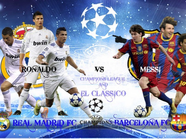 CR7 Vs MESSI UCL 2011