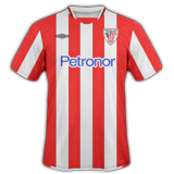 Primera equipación del Athletic