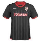 Tercera equipación del Athletic