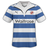 Primera equipación del Reading