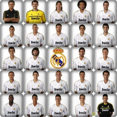 Plantilla Real Madrid 2011 2012