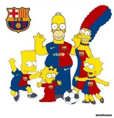 Los Simpsons Son Del Bar  A